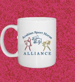 ASHA logo mug (printed both sides)