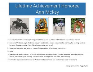 Ann McKay Lifetime