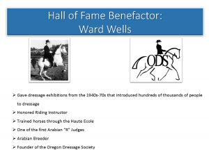 Ward Wells HoF